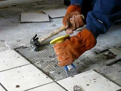 Tiles Removal and Floor Grinding