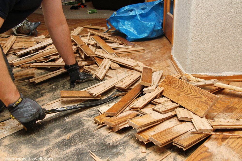 Timber Floor Removal